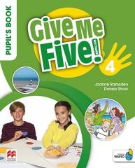 Give Me Five! 4 Pupil's Book Pack MACMILLAN