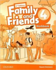 Family and Friends 2E 4 WB OXFORD