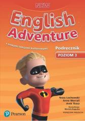 English Adventure New 3 SB + CD PEARSON